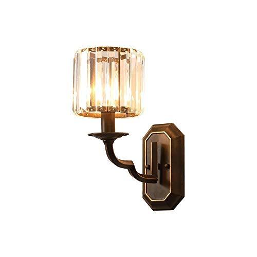 Plafondlamp Wandlamp, leidde Iron Crystal muur Lights, Indoor E14 muur Lamp geschikt for de huiskamer Study Slaapkamer Verlichting Wandlamp