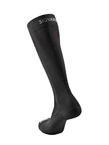 Sigvaris Recovery Chaussettes de Course Unisexe pour Adulte XL Noir