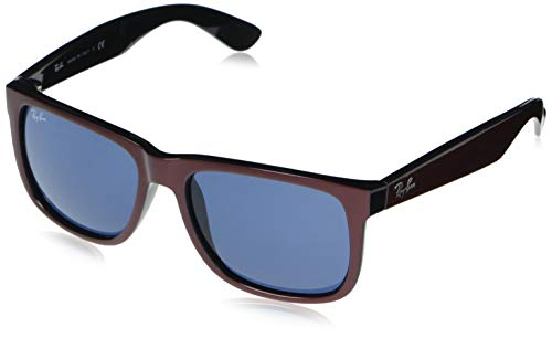 Ray-Ban unisex zonnebril, Rubber Light Havanna/Brown Gradient, één maat