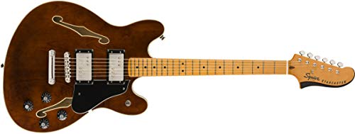 Squier by Fender Classic Vibe Starcaster - Maple Fingerboard - Walut