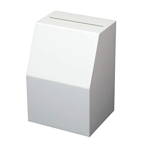 クルーズ 南京錠付きマルチボックス CR58001 募金箱 貴名受 投票箱 アンケートボックス 用途に合わせて使える付属シール