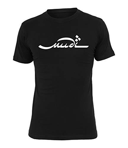 Mudi T-Shirt Logo schwarz, Farbe:schwarz, Größe:L
