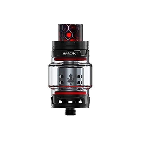 Authentique Smok TFV12 PRINCE Atomiseur 8ml Capacité Top Filling E-Cigarette TFV12 Prince Coils Ne contient pas de Nicotine ni de Tabac (Noir)