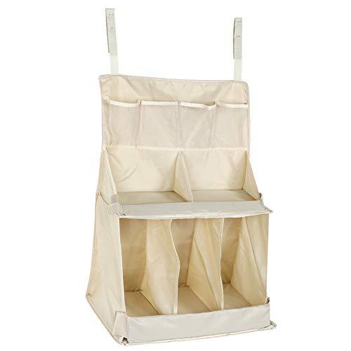 Yeelur Organizador de pañuelos para Colgar, Essentials Biberón Bolsa de Almacenamiento de pañales, para pañales para bebés