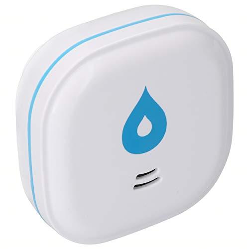mumbi Wassermelder mit 10 Jahres Batterie, bestens geeignet für Küche, Bad und Keller