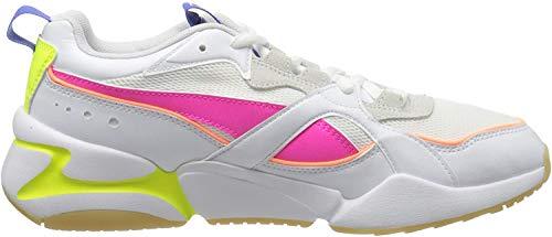 PUMA Nova 2 Wn's, Sneakers Donna, Bianco White/Plein Air, 37 EU