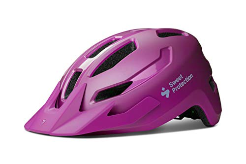 Sweet Protection Ripper MIPS Helmet JR Casco, Unisex Adulto, Mate Opal Purple, 48/53