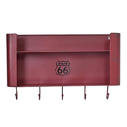 Vacchetti Giuseppe 6442160000 Estante, Metal, Rojo, Medio