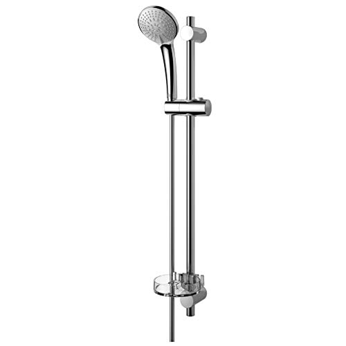 Ideal Standard B9419AA Brausegarnitur IDEALRAIN M3 3 Funktion Handbrause, Stange 72cm Schlauch 1750mm, verchromt