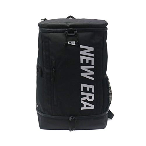 [ニューエラ]NEW ERA リュックサック ボックスパック Box Pack ブラックxリフレクトシルバー