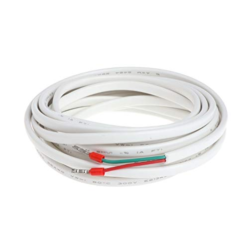LICHONGUI 1 UNID 3M 10K 16A Sonda de Sensor de Temperatura eléctrica para el Sistema de calefacción del Piso Termostato (Color : White)