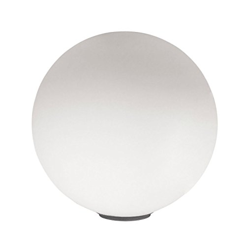 Artemide Dioscuri Tavolo 42E27LED weiß Tischleuchte Tisch-Lampen (weiß, Glas, E27, thermoplastischem Harz, 1bulb (S), LED, LED)