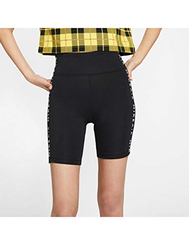 Nike Damen W NSW AIR Bike Sport Shorts, Black, S