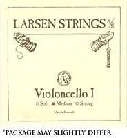 Larsen 4/4 Cello String Set Medium Gauge [並行輸入品]