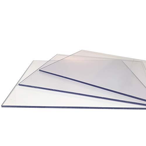 Polycarbonat Platten Lexan® (2050 x 1250 mm) farblos 2-5 mm (2,0 mm, 2050 x 1250 mm)