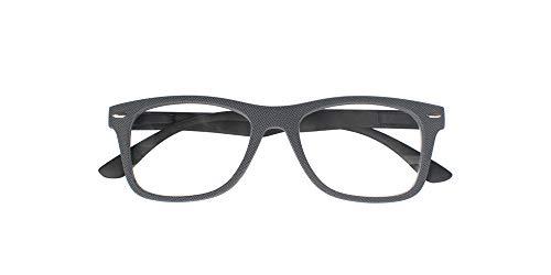 El Charro leesbril model Illinois grijs/zwart, Diottria + 3-1 product