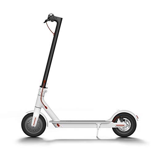 """Patiente eléctrico Patin ELECTRICO Scooter CITYCROSS Blanco INFINITON (Ruedas de 8,5"""" inflables, Velocidad máxima 28km/h, Autonomía 15-20km, Movilidad Urbana)"""