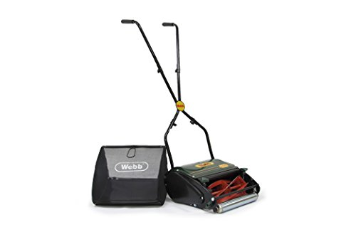 Webb WEHR12R Roller Hand Mower - Best Push Mower For Most People