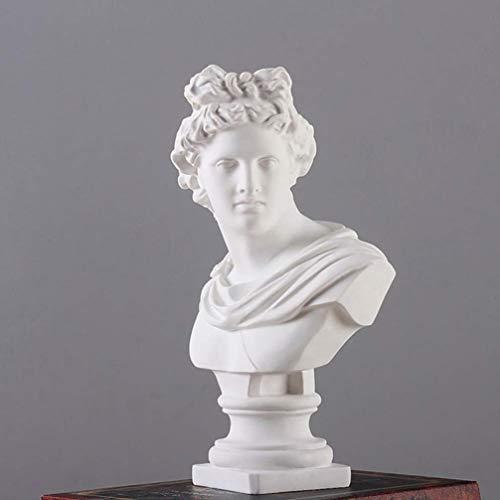 HXPBJ Escultura Adornos Figuras De Resina De Apolo