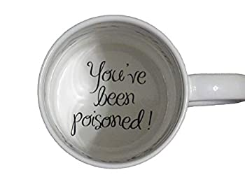 You 3 have been poisoned with fly Coffee Mug surprize mug Father Grandmother Bottom mug hidden message secret message Funny Cool Coffe cup