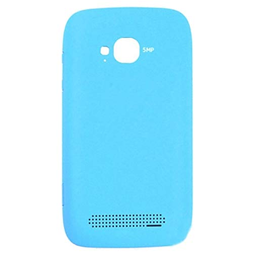 Beilaishi Pulsante Housing Copertura Posteriore della Batteria + Laterale for Nokia 710 (Giallo) Guscio Posteriore Corrispondenza (Color : Blue)