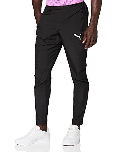 PUMA Liga Sideline Pantalones Hombre, Puma Black-Puma White, 3XL