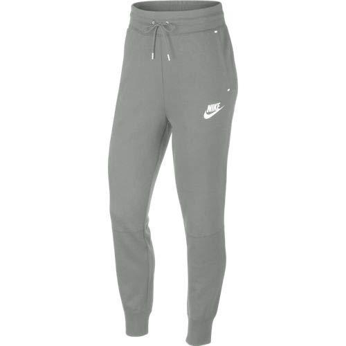 NIKE Sportswear Tech Fleece Pantalón, Mujer, Mica Green/Mica Green/White, L