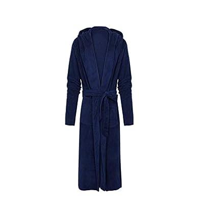 POQOQ Sleepwear Women Lengthened Shawl Bathrobe Home Clothes Long Sleeved Robe