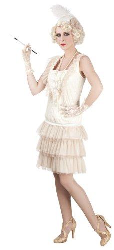 20er 30er Jahre Charleston Damenkostüm Gr. 40/42 Abendkleid