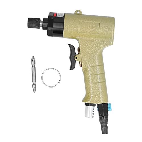 Destornillador de aire neumático, pistolas de tornillo neumáticas Destornillador reversible industrial manual de 1/4 pulg, 10000 rpm, juego de herramientas KP ‑ 805PN