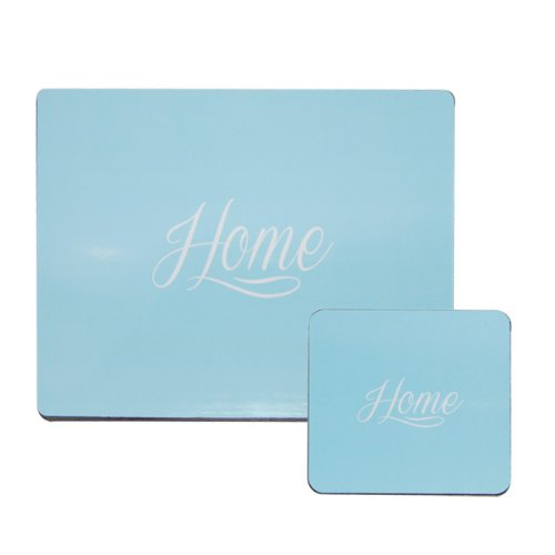 Anika Placemat Set, Pack of 8 Blue