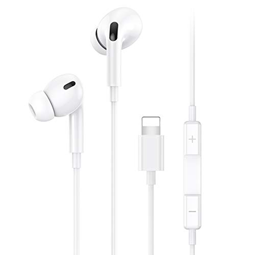 Auriculares internos para iPhone Auriculares Auriculares con cable con micrófono y...