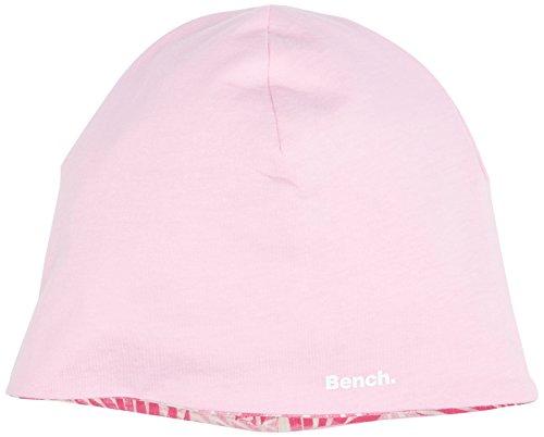 Bench Mädchen Reversible Beanie Mütze, Rosa (Purple PK056), L (Herstellergröße: M/L)