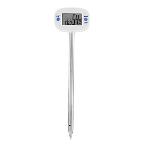 Buy Fishoo Portable Digital Soil Moisture Meter Moisture Measurement Stainless Steel Probe Tool