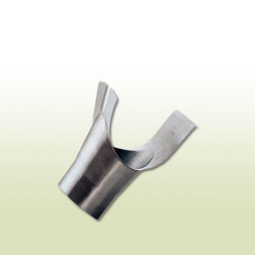 Titanio Zinc oblicuo del surtidor cilíndrica RG 280 F. Caso