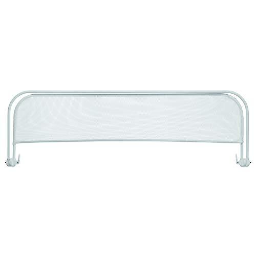 Barrera Cama Plegable - Barandilla para camas, color Blanco