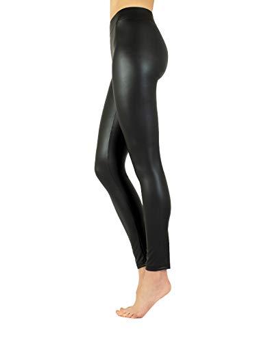 SEAMLESS OPAQUE Skinny Slimming NERO LEGGINGS 80 Denari