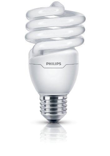 Philips Bombilla espiral E27, bajo consumo, 20 W