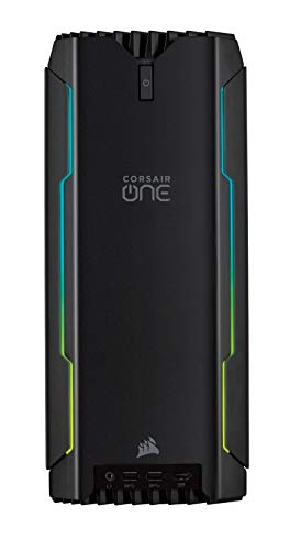 CORSAIR ONE i140 Ordernador De Sombremesa Compacto para Gaming, Intel Core i7-9700K, Nvidia GeForce RTX 2080, SDD M.2 480 GB, HDD 2 TB, DDR4 32 GB, Windows 10
