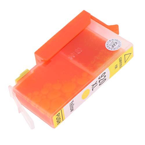 H HILABEE Cartucho de Tinta para HP920XL Partículas de Tamaño Nanométrico - Amarillo