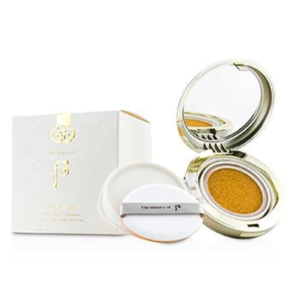 支払い単にトライアスリート[Whoo (The History Of Whoo)] Gongjinhyang Seol Whitening & Moisture Glow Cushion Foundation SPF50 2x15g/0.5oz