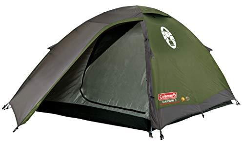 Coleman Kinder (Unisex) Darwin 3 Campingzelt, Khaki/grau, 3 Personen