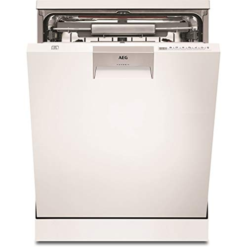 AEG FFE63806PW Freestanding Dishwasher with Comfort Lift draw and AirDry Technology, 13 Place Settings, 10 Programmes, White