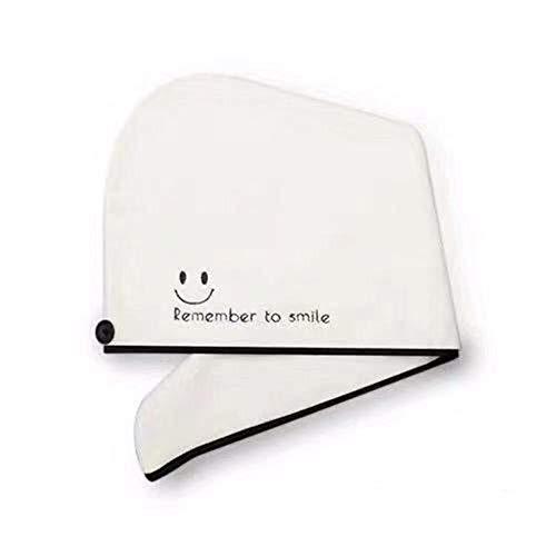 3-delige haarhanddoek, haardroger, pet voor hoeden, sneldrogend, handdoek met draaibare kop met knop.