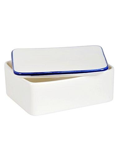 Tranquillo Butterdose ELSA aus Keramik spülmaschinenfest 9,5 x 12 x 5,5 cm