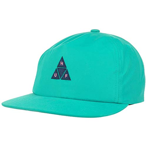 HUF Gorra Triple Triangle Cotton Mix de Beisbol (Talla única - Turquesa)