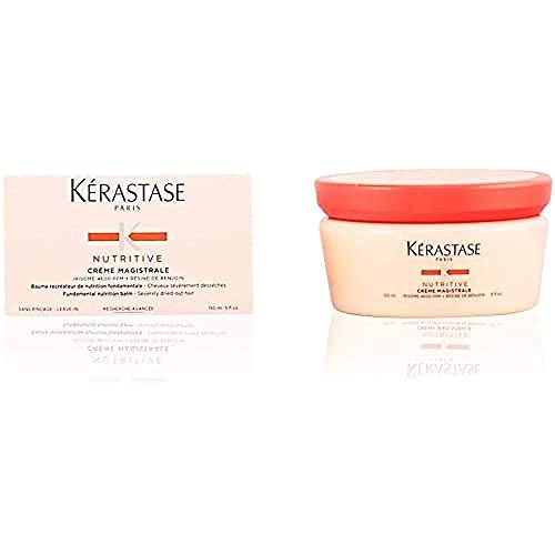 Kerastase NUTRITIVE CRÈME MAGISTRAL crema para el cabello Mujeres 150 ml - Cremas para el cabello (Mujeres, Sensitive hair, 150 ml, Protección contra el calor, Nutrición, Brillo, 1 pieza(s), Cazuela)