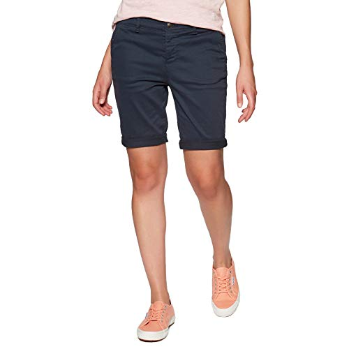 Superdry Chino Damen Chino City Short Pant Midnight Navy, Größe:M