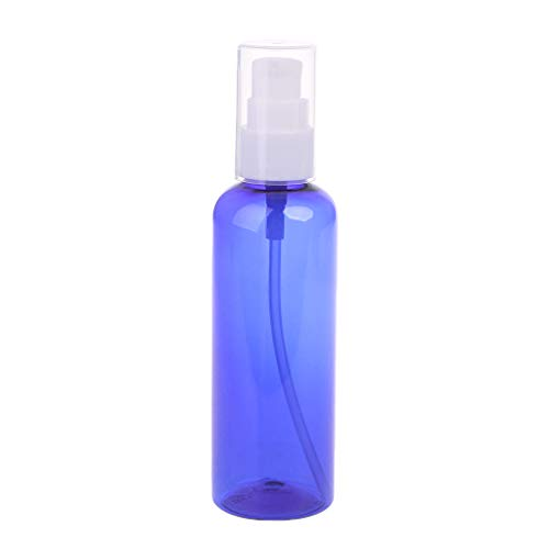 Gwxevce 30ml-100ml Plastik nachfüllbare Pump Lotion Flasche Reise Kosmetikbehälter Colo Lotion Flasche Tiefblau