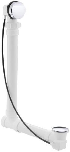 KOHLER K-7213-CP Clearflo Cable Bath Drain, Polished Chrome